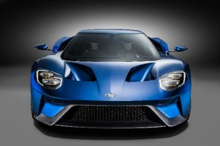 All-New Ford GT Front View, January 2015